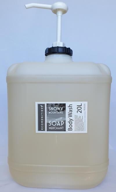 Ecomenities Snowy Mountain Soap Merchant Body Wash 20L