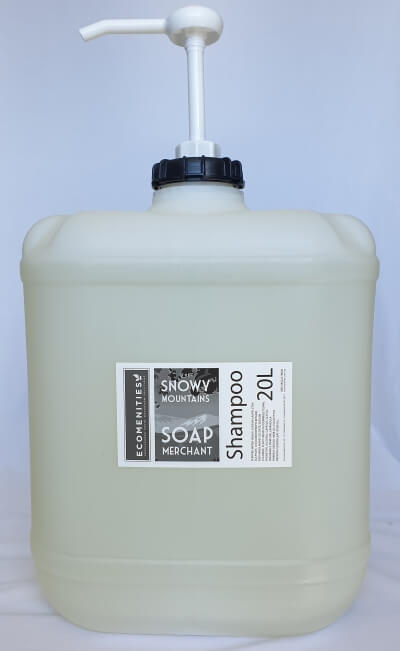 Ecomenities Snowy Mountains Soap Merchant Shampoo 20L