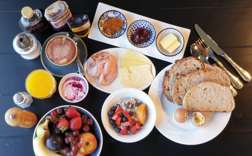 Waste free hotel breakfast